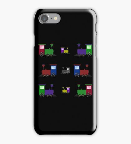 Nursery Trains iPhone Case/Skin