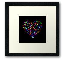 Heart of Hands Framed Print