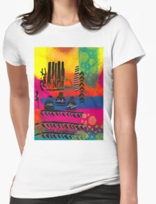 PAINT! Womens Fitted T-Shirt