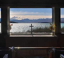 Through the Altar Window by Peter Hammer