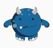 Lil Zier Monster Blue by Nia Brown