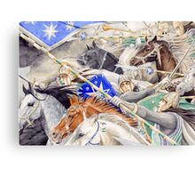 Gwindor's Charge Canvas Print