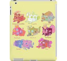 Cube plushie Youtubers  iPad Case/Skin