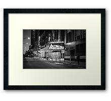 Midnight Stroll Framed Print
