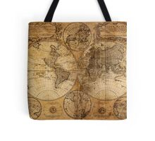 World Map 1736 Tote Bag