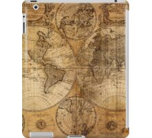 World Map 1736 iPad Case/Skin
