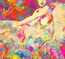 Ginger Rogers by Sol Noir Studios
