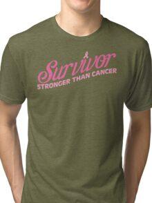 Pink Survivor Tri-blend T-Shirt