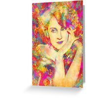 Norma Shearer Greeting Card