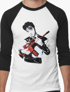 Della Presley Men's Baseball ¾ T-Shirt