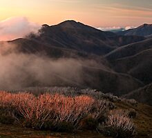 Feathertop hues - Victorian Alps by Tony Middleton