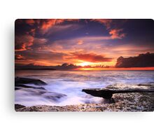Nature's Theatre - Dee Why Canvas Print