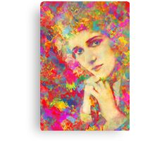 Mary Pickford Canvas Print