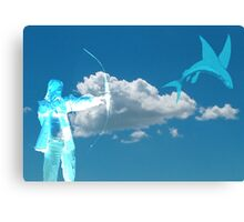 Fishing in the Sky Canvas Print