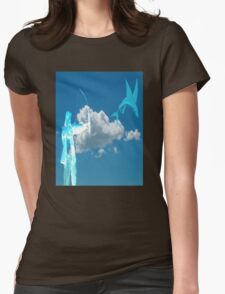Fishing in the Sky Womens Fitted T-Shirt