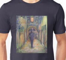 Istanbul on a rainy night Unisex T-Shirt