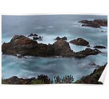 Moss Cove California Poster