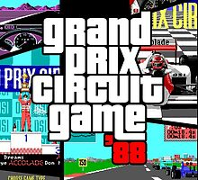 Grand Prix Circuit Game - Formula 1 PC Game 88' by Fink76