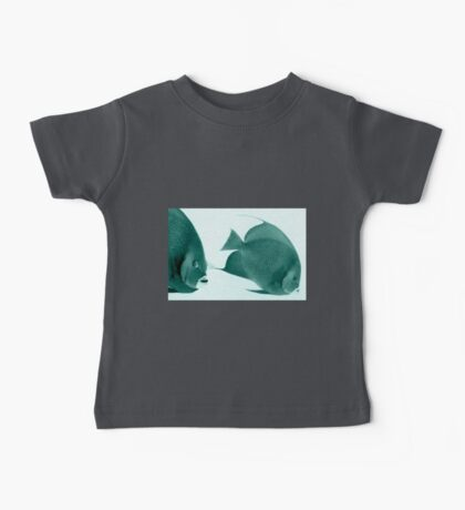 Grey Angelfish - Grand Cayman Baby Tee