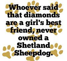 Shetland Sheepdogs Are A Girl's Best Friend by GiftIdea