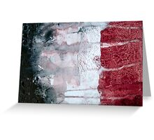 Shadow Flag Greeting Card