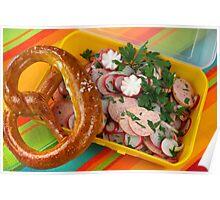 Bavarian Summertime Snacks Poster
