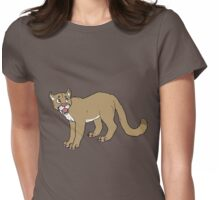 Cutie Cougar  Womens Fitted T-Shirt