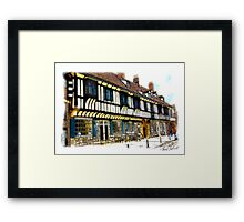 St William's College  -  York. Framed Print