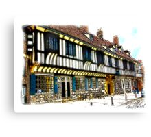 St William's College  -  York. Canvas Print