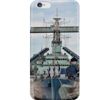 HMS Belfast - Tower Bridge - London iPhone Case/Skin
