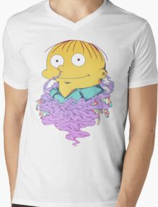 I Bent My Wookie Mens V-Neck T-Shirt