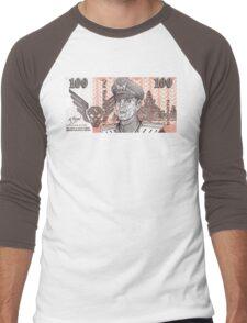 General M Bison Street Fighter the Movie Dollar Men's Baseball ¾ T-Shirt