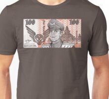 General M Bison Street Fighter the Movie Dollar Unisex T-Shirt