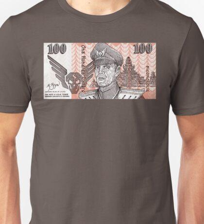 General M Bison Street Fighter the Movie Dollar Unisex T-Shirt