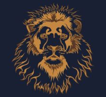 Lion Head (Transparent) Kids Clothes