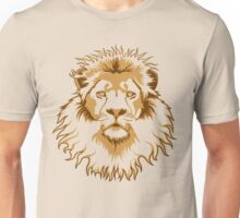 Lion Head (Transparent) Unisex T-Shirt