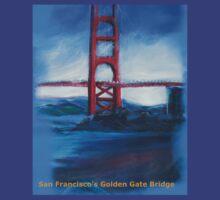 San francisco's Golden Gate Bridge by schiabor