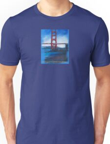 San francisco's Golden Gate Bridge Unisex T-Shirt