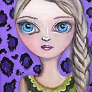 """Purple Leopard"" by Jaz by Jaz Higgins"
