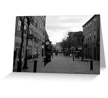 Salem, MA: Pedestrian Promenade Greeting Card