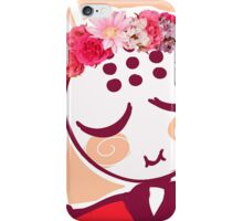 Omi - Flower crown  iPhone Case/Skin