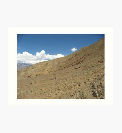 Nomadic Tibet Art Print