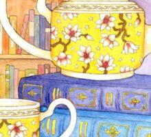 Books and Tea Sticker