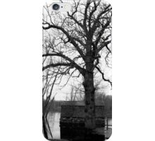 Concord, MA: Flooded Boat House iPhone Case/Skin