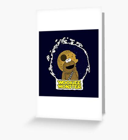 Wookiee Monster... Greeting Card