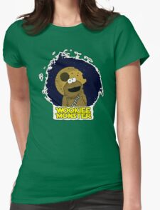 Wookiee Monster... Womens Fitted T-Shirt