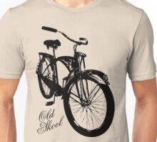 Old Skool Bicycle Unisex T-Shirt
