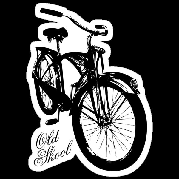 Old Skool Bicycle by Karl Whitney