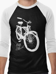 Old Skool Bicycle Men's Baseball ¾ T-Shirt