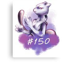 mewtwo #150 Canvas Print